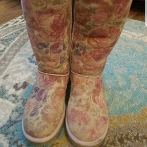 Uggs Rose Floral Boots